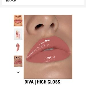 Brand Kylie high gloss in shade Diva